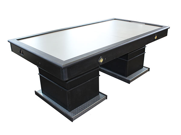 Air Hockey Dual Pedestal